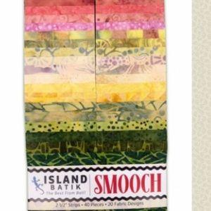 Smooch Cotton Fabric Batik Strips